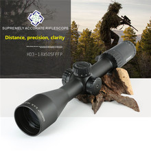 оптический прицел MARCOOL HD 3-15x50FFP пприцел Hunting Riflescope First Focal Plane with Red Dot For PCP for Air Gun Air Soft