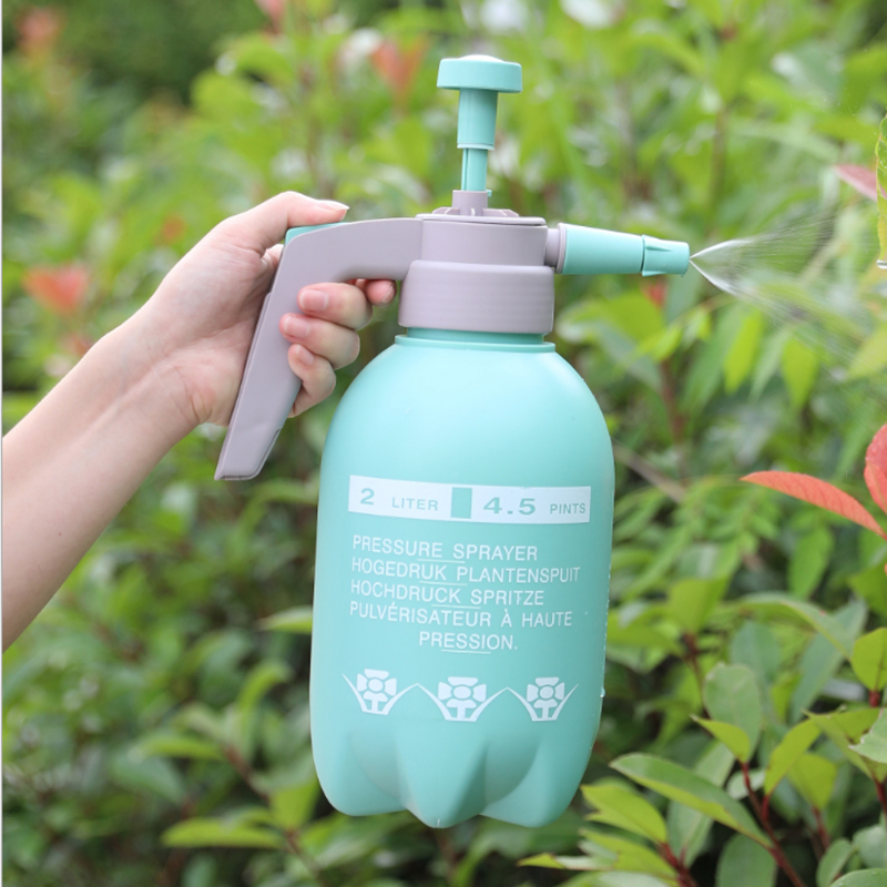 2Pcs Sprayer Bottle Multiple-Combination Hand Pressure Trigger Sprayer Adjustable Air Compression Spray Bottle Watering Can 2-Pc-2