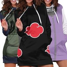Hoodies Sweatshirt Pajamas Cosplay-Costume Girls Dress Kakashi Hatake Akatsuki Uchiha Itachi
