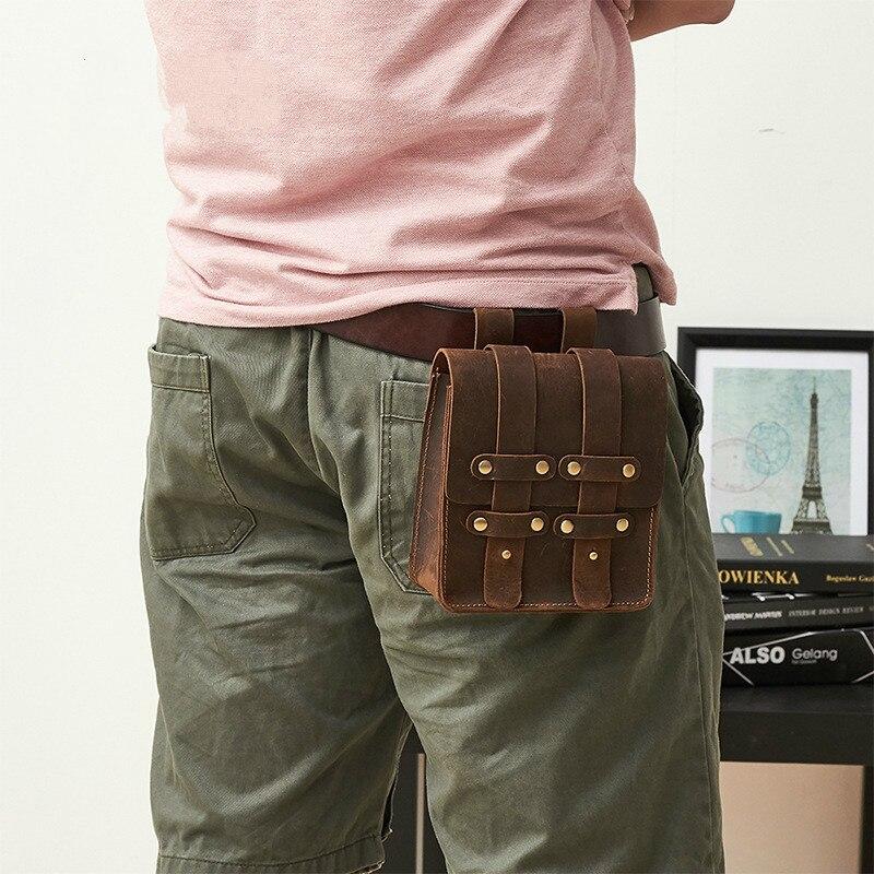 Мужская поясная сумка, чтобы купить мужская нагрудная сумка для мужчин, поясная сумка 859 кожаная мужская сумка Banane Marsupio Uomo Gamba Nerka