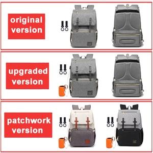 Image 2 - Diaper Bag Backpack for Mom 2020 USB Maternity Baby Care Nappy Nursing Bags Fashion Travel Diaper Backpack for Stroller Kit