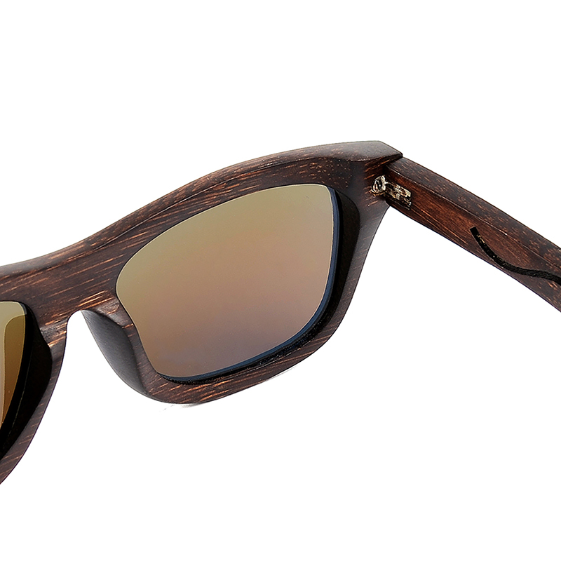 BG006d -CZC  Ebony Wooden Sunglasses for Women And Mens With Bule Polaried Lens  (8)