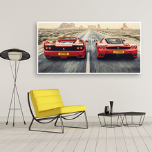 Classic Retro Car Sports car GTO,F40,F50 Picture Wall Art Canvas Painting Bedside Home Decorative Posters HD Print Artwork Mural