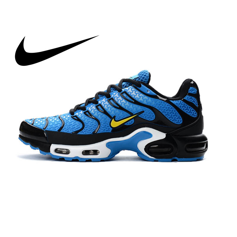 NIKE AIR MAX PLUS TN Men's Breathable Running Shoes Sports Sneakers Lace-Up Platform KPU Material Tennis 40-45