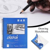 High Quality Sketch Books Acid Free Drawing And Sketching Paper 9*12 Inch 100 Sheets School Supplies
