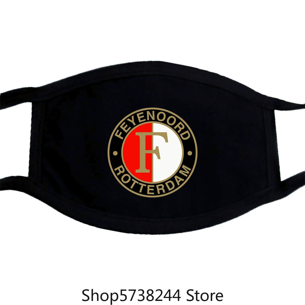 Feyenoord Rotterdam Netherlands Eredivisie Soccer Football Black Mask New S Washable Reusable Mask With