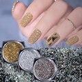 30 Цветов Втирка для ногтей блестящий пигмент голографическая пудра для дизайна ногтей розовый золотистый Блестящие Блестки для ногтей для ...