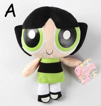 20 cm  Girls Plush Doll Bubbles Blossom Buttercup Stuffed Toys for  gift
