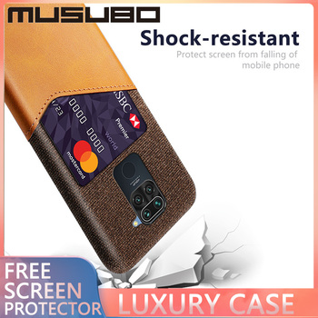 Musubo Case For XIAOMI REDMI Note 7 Pro K30 K20 Pro 8A Back Cover Shockproof For Note 9 Pro Max 9s Note 8 4X Fundas Card Holder