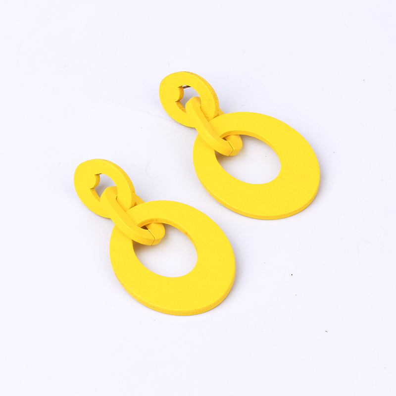 oval yellow