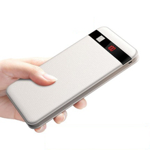 10000mAh LED Power Bank Dual USB Portable Charger Powerbank for IPhone Xiaomi Mi Phone External Battery Pack Poverbank