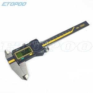 Image 3 - 0 150mm 6 inç 200mm 300mm 0.005mm TERMA ABS kökenli dijital kumpas IP54 su geçirmez elektronik sürmeli kaliper mikrometre göstergesi