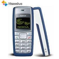 1110 original telefone móvel nokia 1110 1110i telefone móvel desbloqueado barato antigo celular clássico 1 ano de garantia remodelado