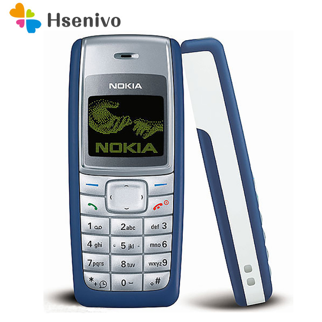 1110 Original Mobile Phone Nokia 1110 1110i Mobile Phone Unlocked cheap Old Mobile Classic Phone 1 Year Warranty refurbished