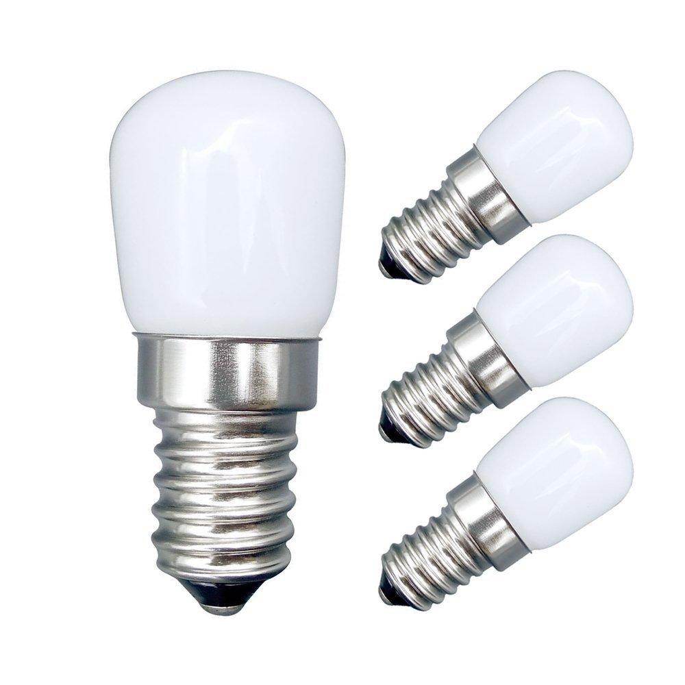 E14 E27 3W LED Fridge Light Bulb Refrigerator Corn Bulb LED Lamp White/Warm White SMD2835 Replace Halogen Chandelier Lights