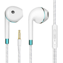3.5mm Wired earphones Bass In-Ear Sport Earphones with MIC Headset auriculares for Xiaomi iPhone MP3