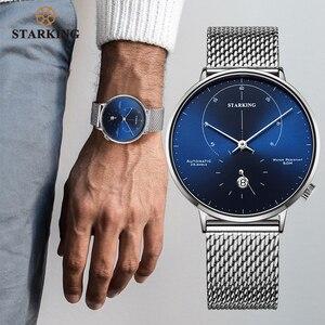 Image 2 - STARKING นาฬิกาอัตโนมัติ Relogio Masculino Self WIND 28800 Beats Mechanical Movement นาฬิกาข้อมือผู้ชายชายนาฬิกา 5ATM AM0269