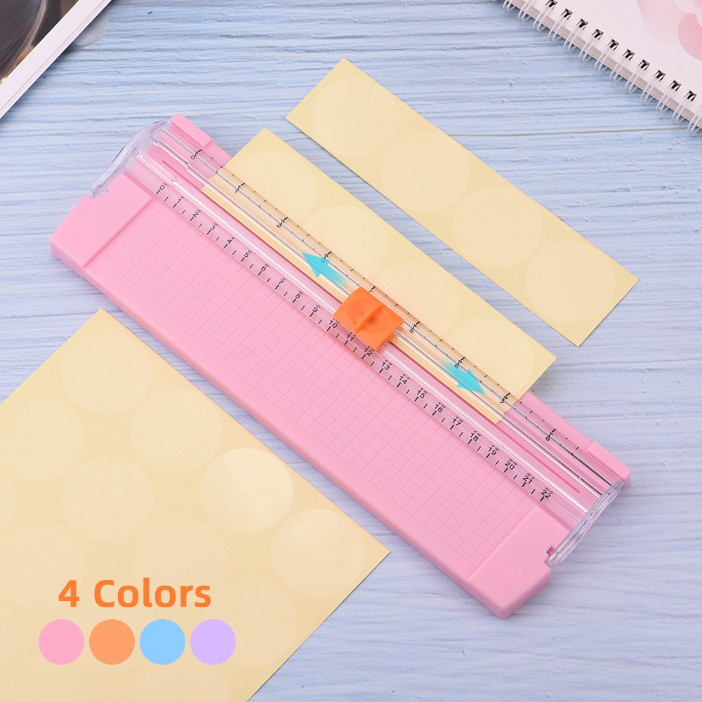 Portable Mini A5 Precision Paper Photo Trimmers For Scrapbook Papers Photo Cutter Cutting Mat Tools Office Cutting Accessories