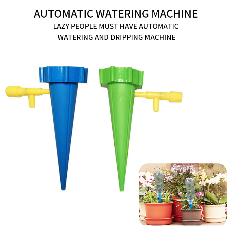 Drip Irrigation System Plant Waterers DIY Automatic Drip Water Spikes Taper Watering Plants Houseplant Spike Dripper