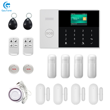 Free Shipping WIFI+GSM GPRS APP Remote Control Home/Office/Factory Wireless Burglar Security Alarm System For Android and iOS free shipping ios android app control wireless home security gsm alarm system intercom remote control autodial siren sensor kit