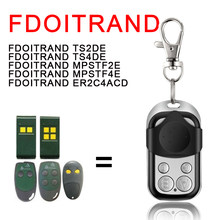Compatível fdoitrand modelo ts2de ts4de mpatf2e mpatf4e er2c4acd 433mhz código fixo porta da garagem controle remoto