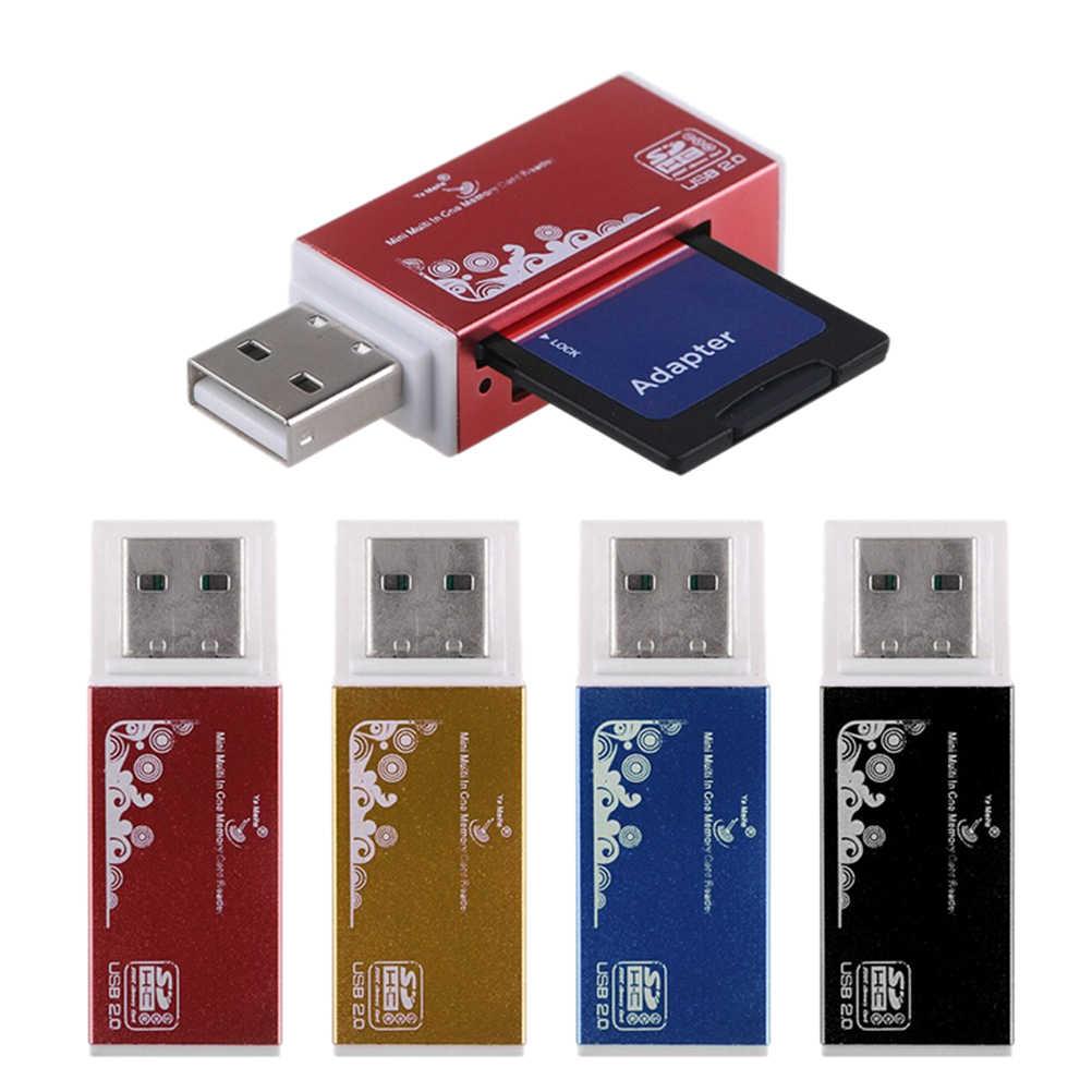 Czytnik kart/wielu czytnik kart dla SD/SDHC, MMC/RS MMC, TF/MicroSD, MS/MS PRO/MS DUO, M2 czytnik kart hurtownie