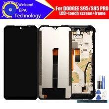 6.3 polegada doogee s95 display lcd + digitador da tela de toque assembléia 100% original lcd digitador toque para doogee s95 pro ferramentas