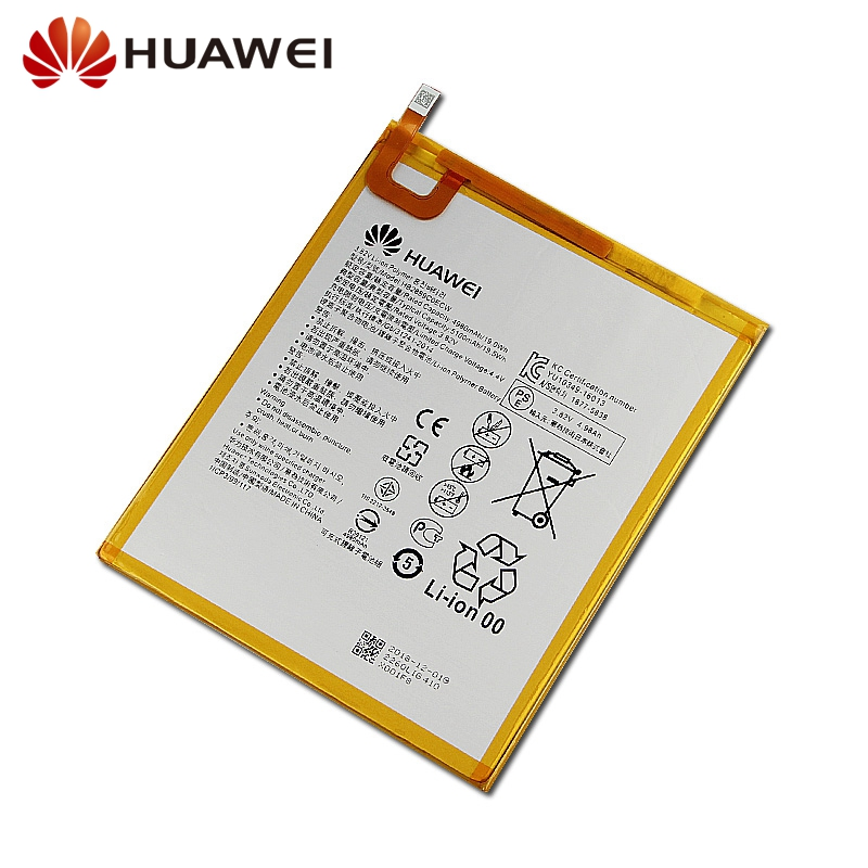 Huawei Original Replacement Battery HB2899C0ECW For Huawei M3 M3 BTV W09 M3 BTV DL09 New Authentic Phone Battery 5100mAh in Mobile Phone Batteries from Cellphones Telecommunications