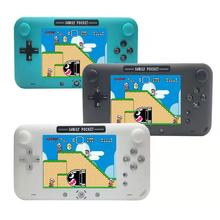 4 Inch Screen Retro Handheld Game Console Portable Game Player for Nes Games with 208 Built-in Games HDMI Out Rechargeable