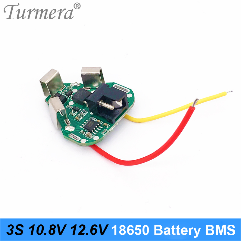 3S Battery 12 6V 10 8V 18650 Lithium Battery BMS Protection Board Circuit Module for Screwdriver