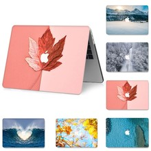 3D Printed Leaf NoteBook Case for MacBook Pro 12 15 inch Air 11 13 Retina Hard PVC Sleeve A1466 A1932