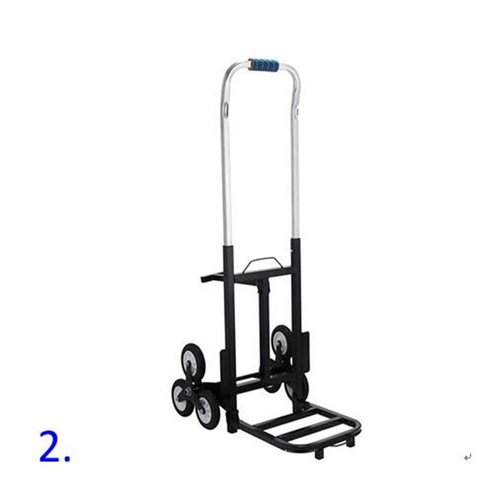 Escalier Portable escalade chariot pliant escalade main camion chariot plate-forme chariot chariot peut se plier/plastique main camion chinois chariot