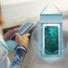Nu-June Mobile Phone Waterproof Bag TPU Waterproof
