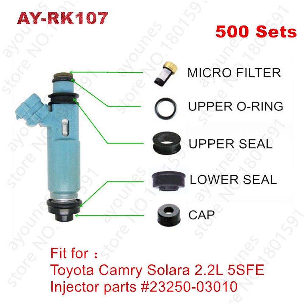 Fuel Injector Service Repair Kit fits Dodge Chrysler Mitsubishi