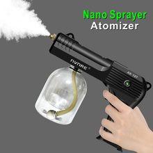 Pistola de pulverização elétrica garrafa de energia do jardim máquina pulverizador elétrico água pequena rega pode fogger bateria recarregável para o carro animal estimação