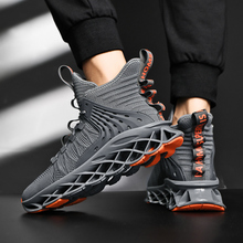 Men's Running Knit Breathable Sports Shoes Fashion Sneakers
