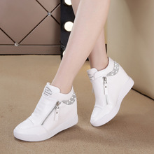 Tleni 2018 spring white shoes women's increased women's shoes