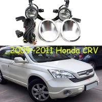 car bumper headlight for hONDA cr v crv fog light 2009~2011y halogen bulb 4300K Wire of hanress Headlamp for CR V CRV fog lamp
