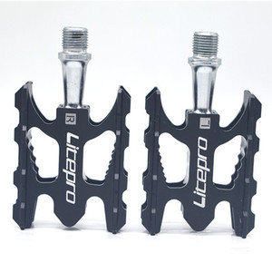 Image 4 - LITEPRO MTB הרי אופני דוושת K3 כביש מתקפל אופניים Ultralight אלומיניום סגסוגת 412 10.8*6.2mm נושאות דוושת רגל