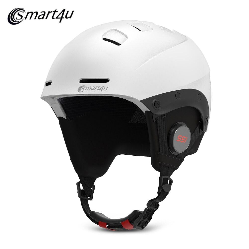 Шлем лыжный водонепроницаемый с Bluetooth для мужчин и женщин, умный шлем для катания на лыжах, сноуборде, скейтборде, лыжах, снежное снаряжение ...