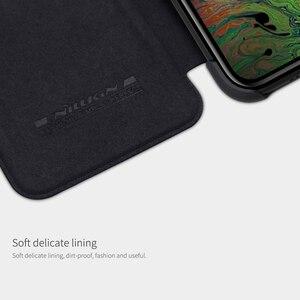 Image 3 - Caes für iPhone X Xs Max 7 8 Plus 12 Mini 11 Pro Max Nillkin Qin Serie PU Leder Flip abdeckung Für iPhone 11 Fall