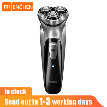 Xiaomi Enchen Men Electric Shaver Type-C USB rechargeable Razor 3 blades portable beard trimmer cutting machine for sideburns 1