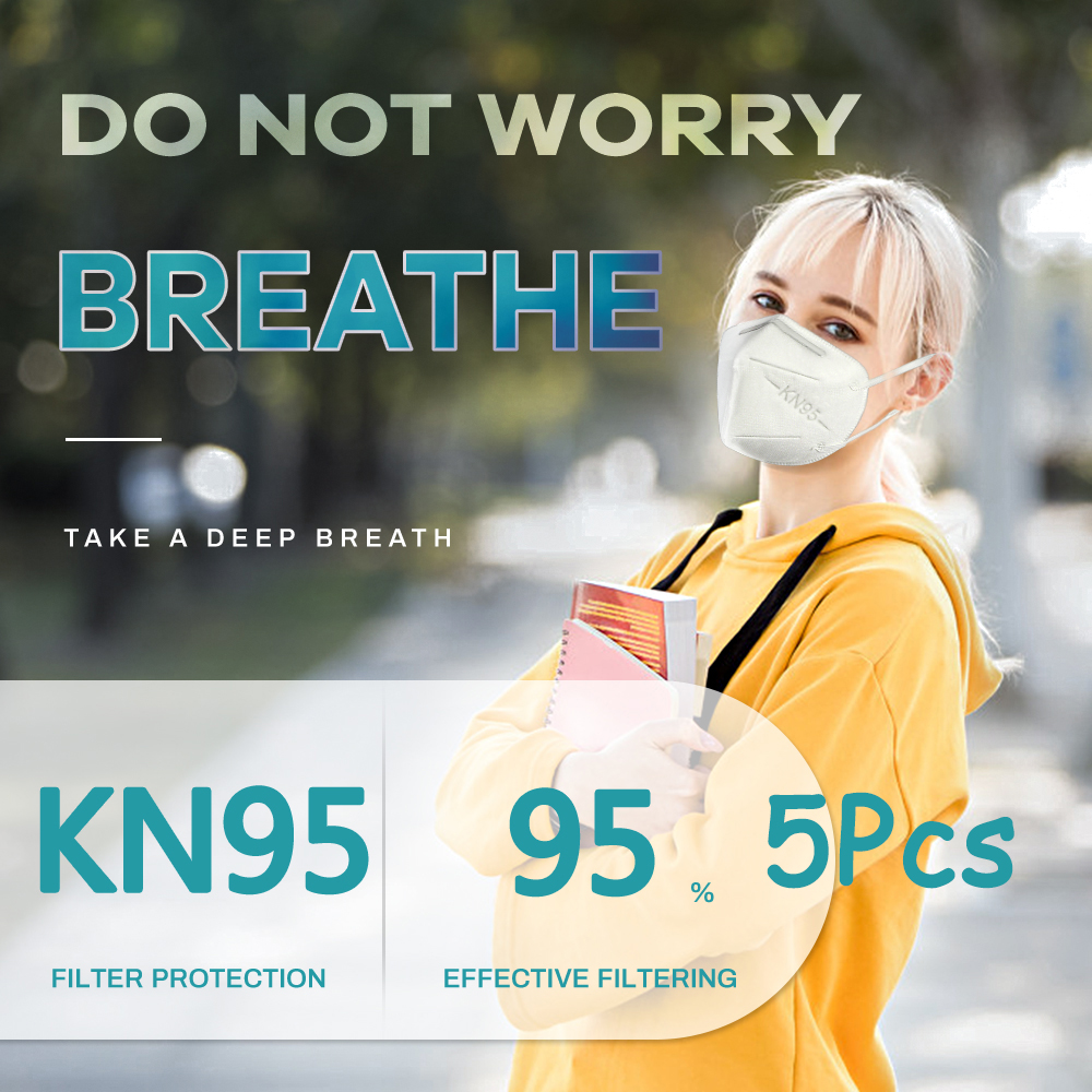 5PCS-N95-Mask-CE-Certificate-Mouth-Face-Mask-Dust-Anti-Infection-KN95-Masks-Respirator-PM2-5 Toilet Paper