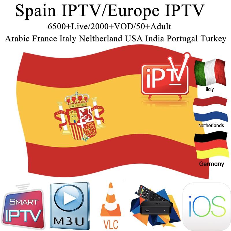 Spain Iptv Subscription M3u Abonnement Iptv Spainis Caja France Germany Italy Portugal Android Ip Tv Box Enigma2 M3u Smart TV PC