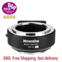 Commlite 어댑터 CM NF NEX cm enf e1 pro Nikon F (G) 렌즈 용 Sony E 마운트 카메라 Sony A6100 A6300 A6400 A6500 A7R2 A7r4 A9
