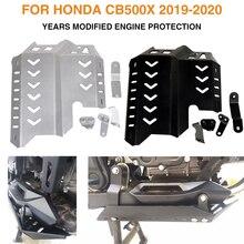 สำหรับ Honda CB500X CB 500X 500X2019 2020เครื่องยนต์รถจักรยานยนต์ป้องกันแชสซีภายใต้ Guard แผ่นลื่นไถลป้องกัน Accessorie