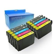 10 pk Epson 220xl T220 ink cartridge Compatible for Epson WorkForce WF-2630 WF-2650 WF-2660 XP-320 XP-420 printer ink 10x new ink cartridges for workforce wf 3010dw wf 3520dwf wf 3530dtwf wf 3540dtwf printer t1291 t1294