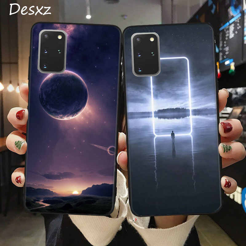 Space Planet Wallpaper Samsung A11 A21 A41 A51 A71 A81 A91 Phone Case Samsung Note 8 9 10 Plus S20 Plus Silicone Cover Phone Case Covers Aliexpress