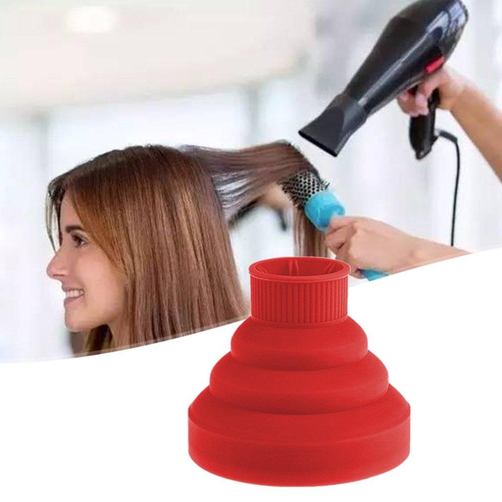 Hair Dryer Folding Hood Silicone Hair Dryer Curl Large Interface Telescopic Dryer Hair Dryer Hair Dryer Cover