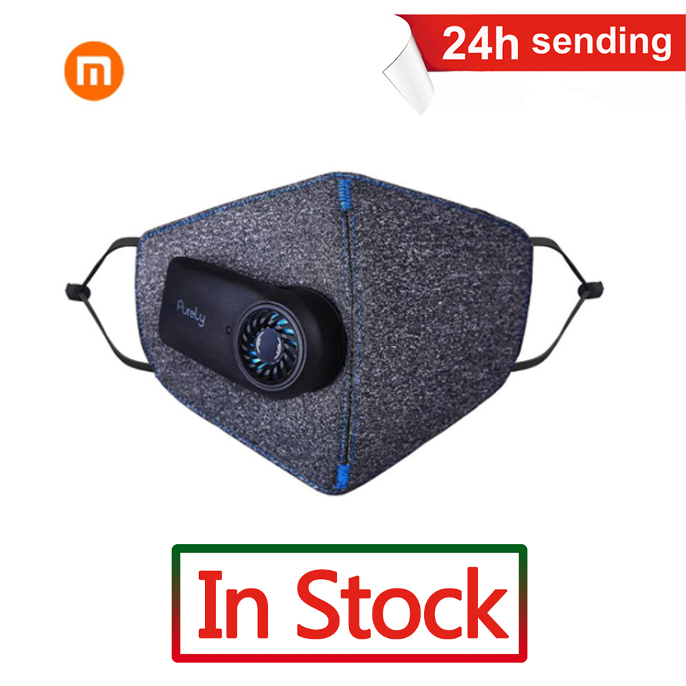 Newest Xiaomi Purely Anti-Pollution Respirator PM2.5 Filter Sport Anti Dust Air Pollution Mask Outdoor Air Breathing Purifier